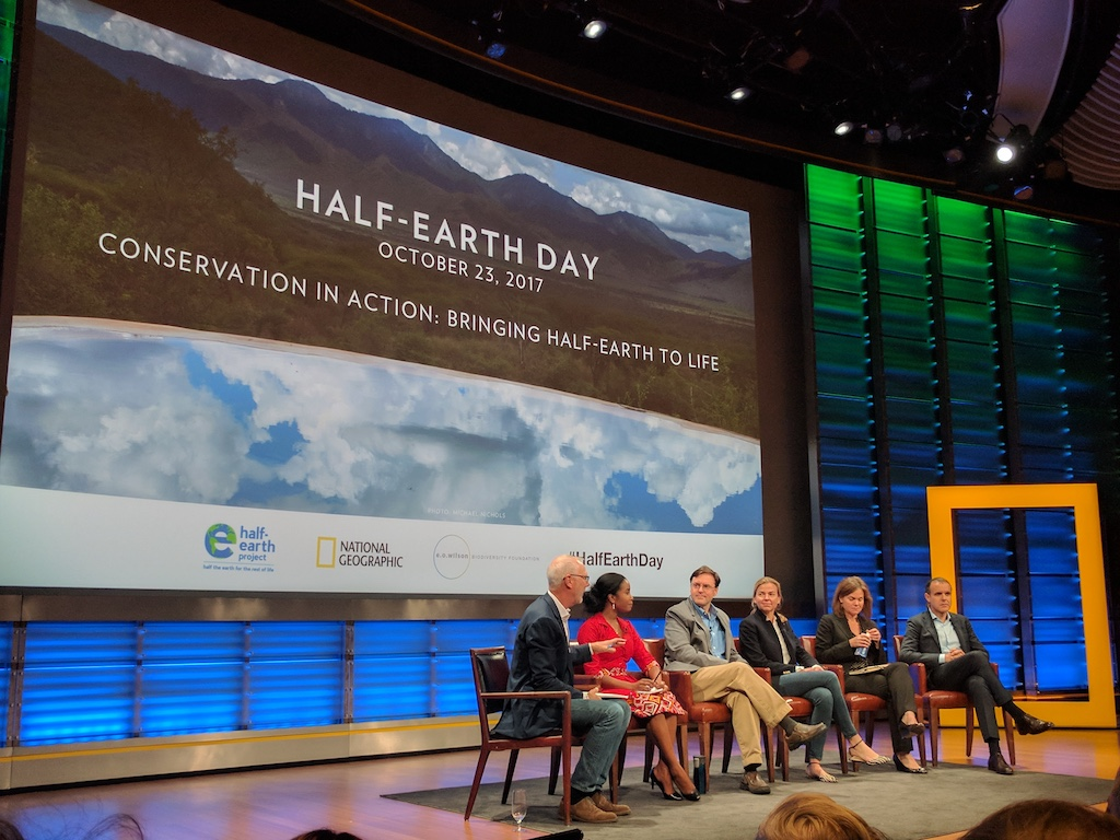 Half Earth day panel session